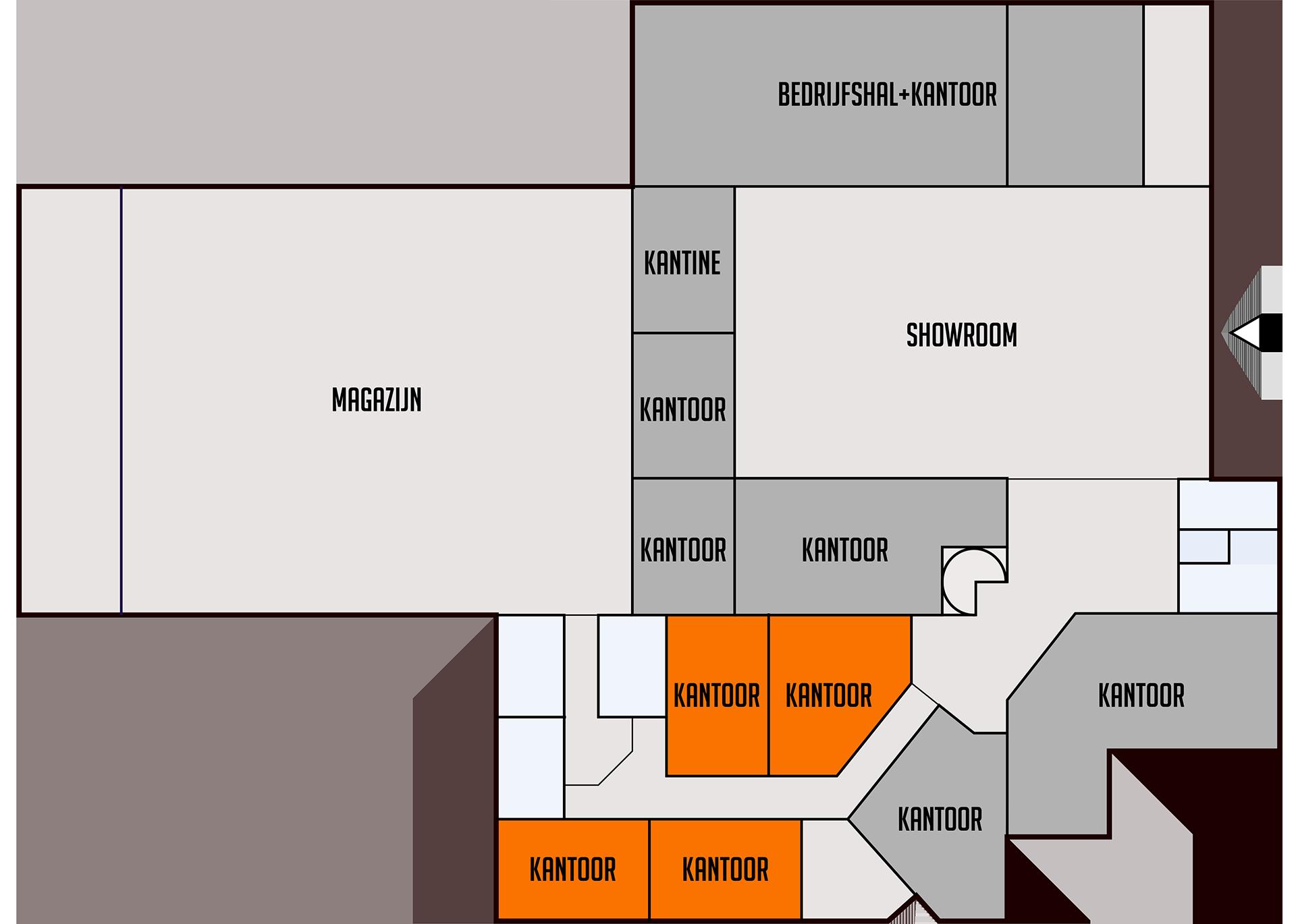 Bedrijven centrum berkelland for Plattegrond magazijn maken
